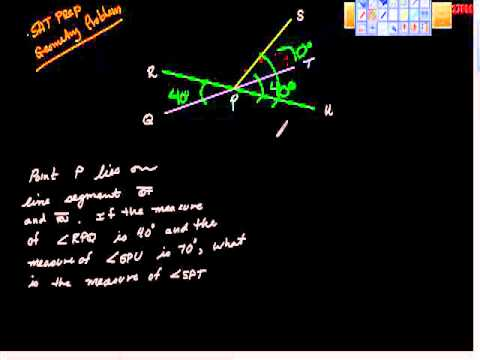 SAT Prep Geometry Problem One