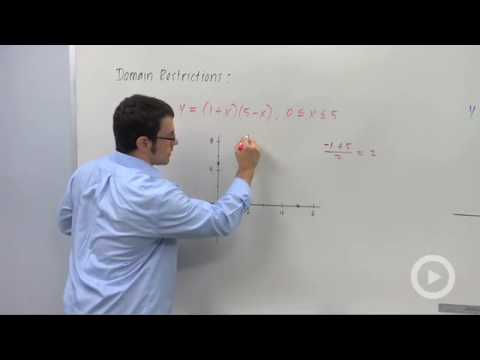 Precalculus - Domain Restrictions and Functions Defined Piecewise