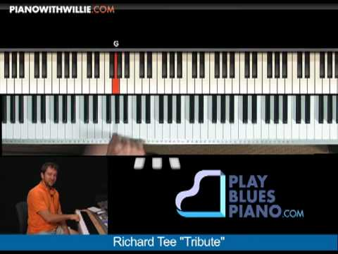 Richard Tee - Blues piano secrets - PianoWithWillie.com