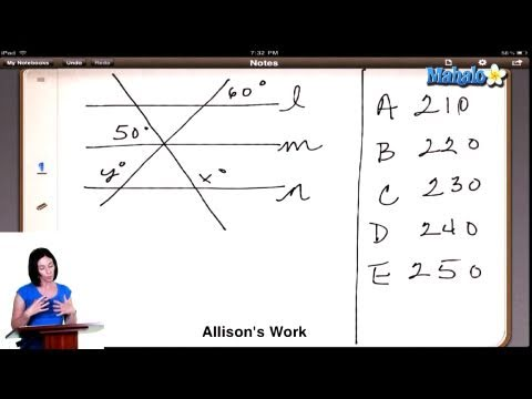 SAT Math Prep Course Question #20