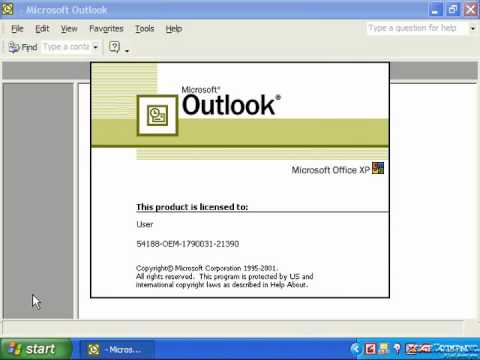 Outlook 2003 Tutorial Emailing a Shortcut to a Private Folder XP&2000 Microsoft Training Lesson 11.0