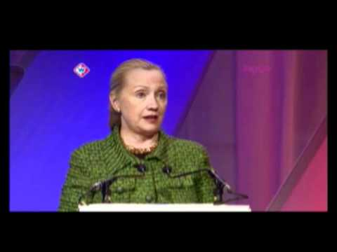 Secretary Clinton Comments on the Challenges of Cyberspace