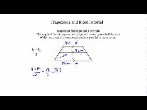 Trapezoids and Kites-Textbook Tactics