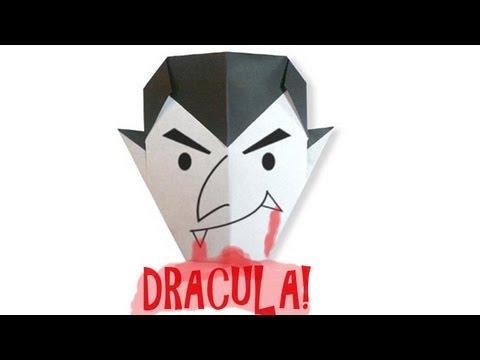 Origami Daily - 036: Halloween Basic (Easy) Dracula - TCGames [HD]