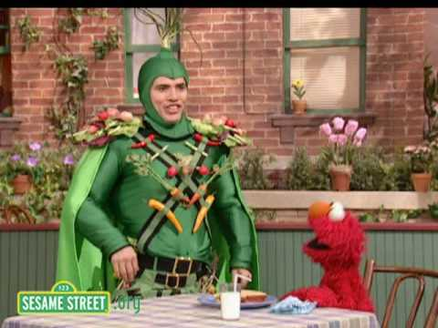 Sesame Street: John Leguizamo Is Captain Vegetable