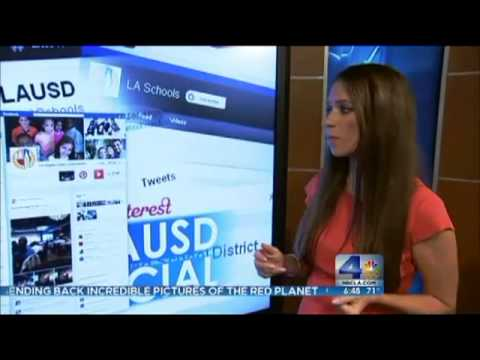 NBCLA Reports Social Media @ LAUSD Keeping Parents Better Informed