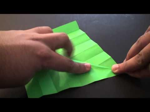 Origami Daily - 142: Decorative Leaf - TCGames [HD]