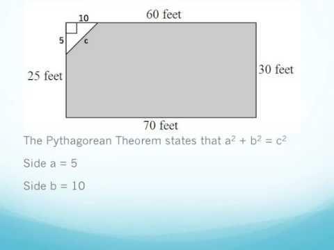 Solving a Perimeter Problem Involving Pythagorean Theorum