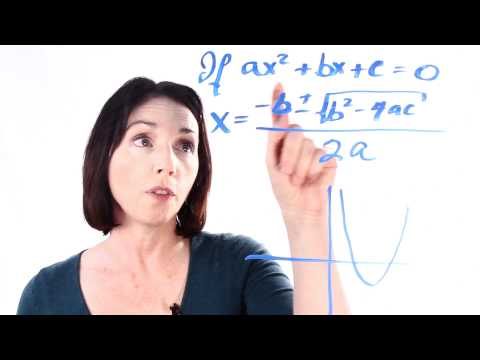 The Quadratic Formula - An Introduction