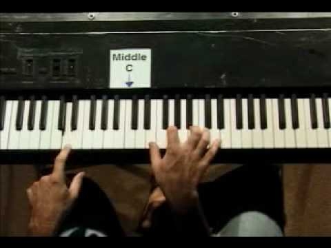 Piano Lesson - 7 Chords For The Key Of G Major