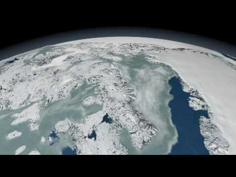 NASA | Daily Arctic Sea Ice 2005-2006
