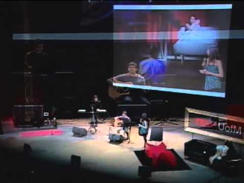 TEDxUofM - AJ Holmes, Ali Gordon, and Carlos Valdes - Writing a Musical