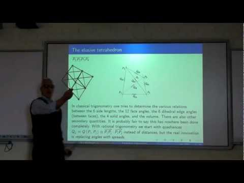 Three dimensional geometry, ZOME, and the elusive tetrahedron