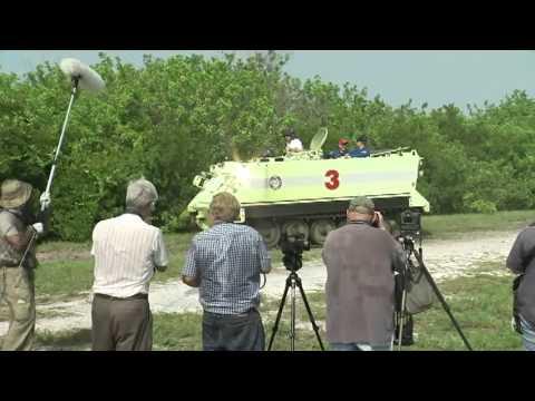 STS-135 Crew Undergoes Emergency Exit Training
