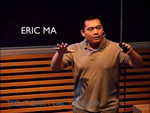 TEDxTerryTalks - Eric Ma - 10/03/09