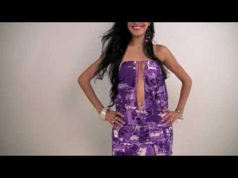 Strapless Plunge Dress