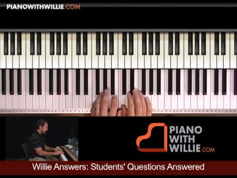Willie Answers 14: Questions 4 Part 2 (approaching target chords)