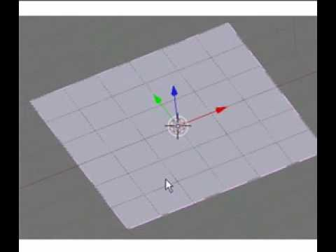 Super3boy's 14th Blender Tutorial(A Cloth With Softbodies)