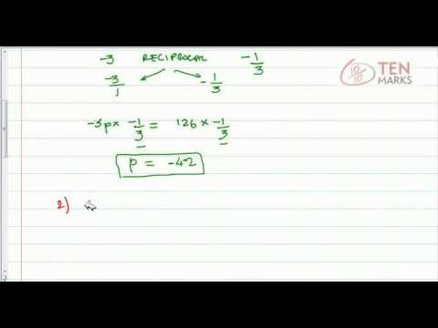 Solve Equations with Negative Coefficients