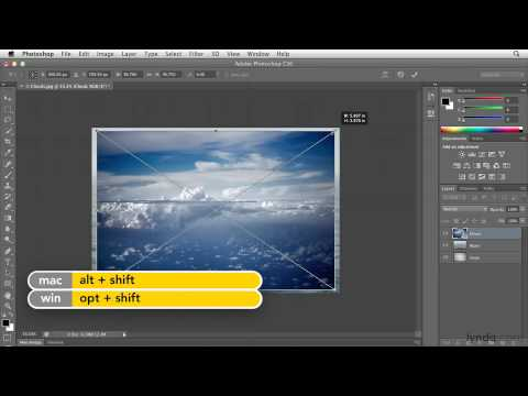 Photoshop: How to composite images using layers | lynda.com tutorial