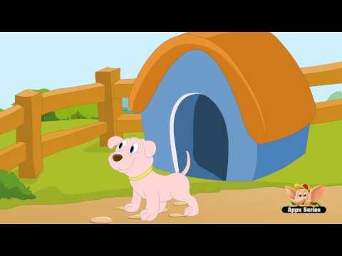 Oh Where Little Dog - Nursery Rhyme with Lyrics (HD)