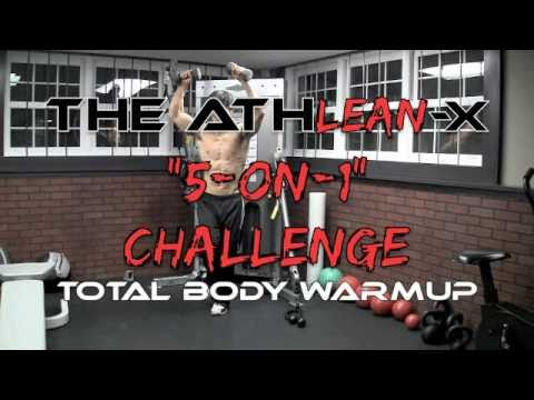 "Total Body Warmup - The Preworkout ""NO STRETCH"" 5 On 1 Challenge!"