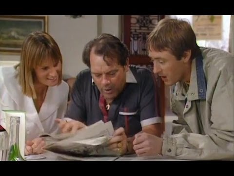 Spanish lottery millionaires - Only Fools and Horses - BBC