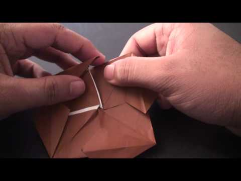 Origami Daily - 044: Spinning Top (By Suhas) - TCGames [HD]