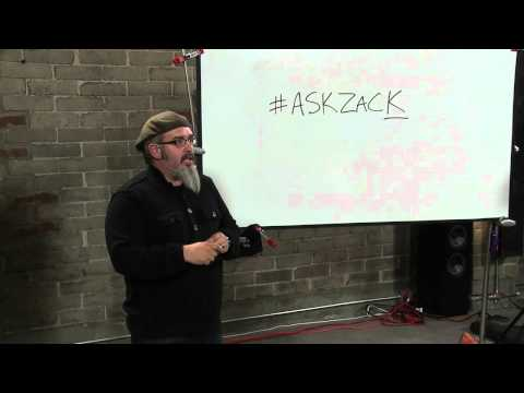 Studio Lighting with Zack Arias: 1:30 pm - Introduction & Philosophy of Studio Space