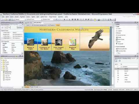 Total Training for Microsoft Expression Web Ch 1 L1 Designing with Layers & Absolute Positioning