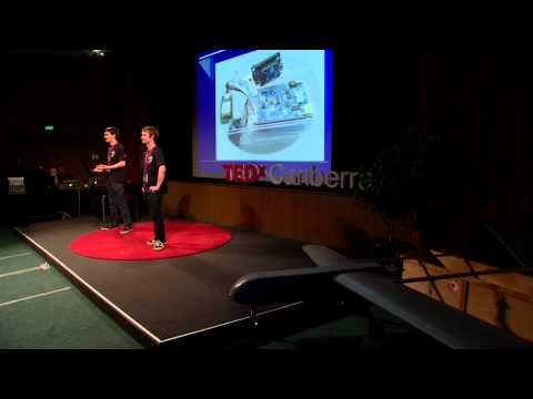 TEDxCanberra - Michael Engemann and Damien Tonkin - Building a rescue UAV