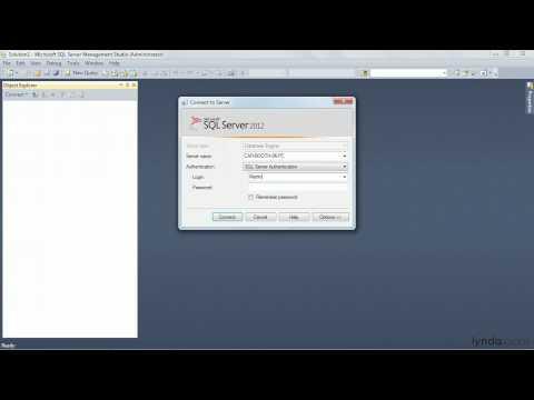 SQL Server tutorial: Using security and permissions | lynda.com