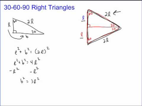 Special Right Triangles Part 1