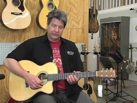 New certified green series Martin acoustic guitar and dreadnaught short scale gear demos