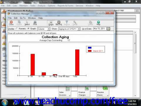 Peachtree Tutorial The Collection Manager Sage Training Lesson 14.2