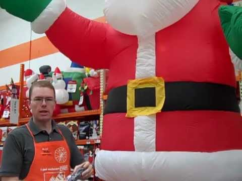 Setting Up A Yard Inflatable - The Home Depot