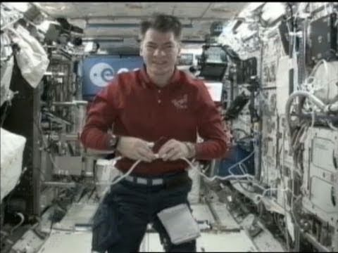 Paolo Nespoli talks to BBC, live from ISS