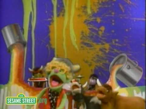 Sesame Street: Wet Paint
