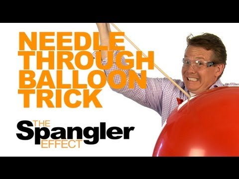 The Spangler Effect - Needle Through Balloon Trick Season 01 Episode 28