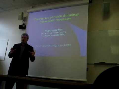 The Privacy of Public Sociology (1/6), by Mathieu Deflem