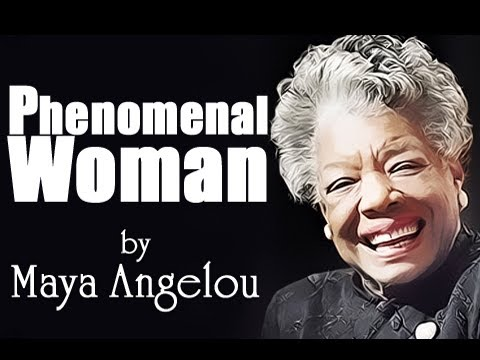 Pearls Of Wisdom - Phenomenal Woman by Maya Angelou - Poetry Reading