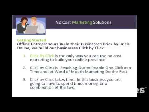 No Cost Marketing Solutions for Entrepreneurs
