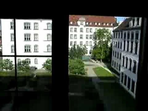 View from 16th Century Teacher Training Institute - Dillingen, Germany
