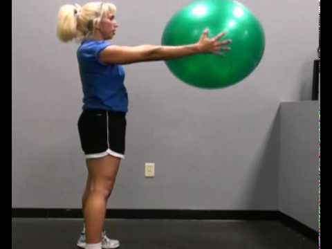 Squat and Twist, Alternating : BeYourTrainer.com