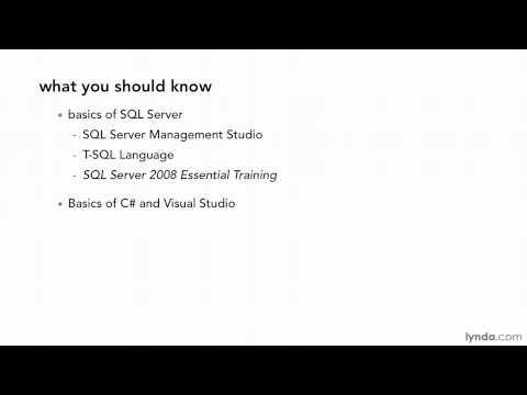 SQL Server tutorial: What you should know   lynda.com