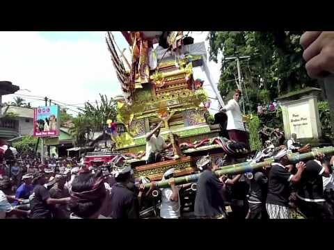 Royal Cremation in Ubud Village, Bali