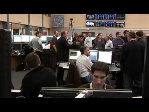 Video News Release : LHC Restart 2009 1/2