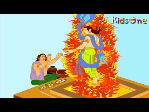 The Ramayana In Telugu - with Animation - Part 01