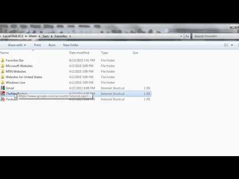 Visual Basic Tutorial - 189 - Favorites Part 2   Creating The WebFavorite Class