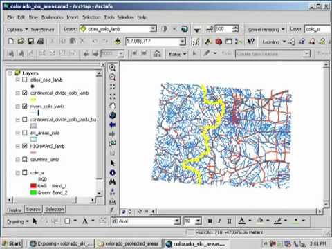 Siting a Ski Area in Colorado: Lesson Using Spatial Analysis and GIS: Chapter 3